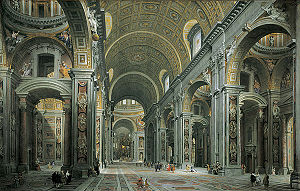 300px-Giovanni_Paolo_Panini_-_Interior_of_St._Peter's,_Rome