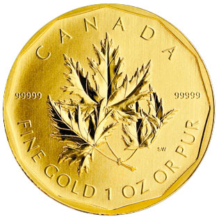 Canadian Maple Leaf 999 99 Anax Gold